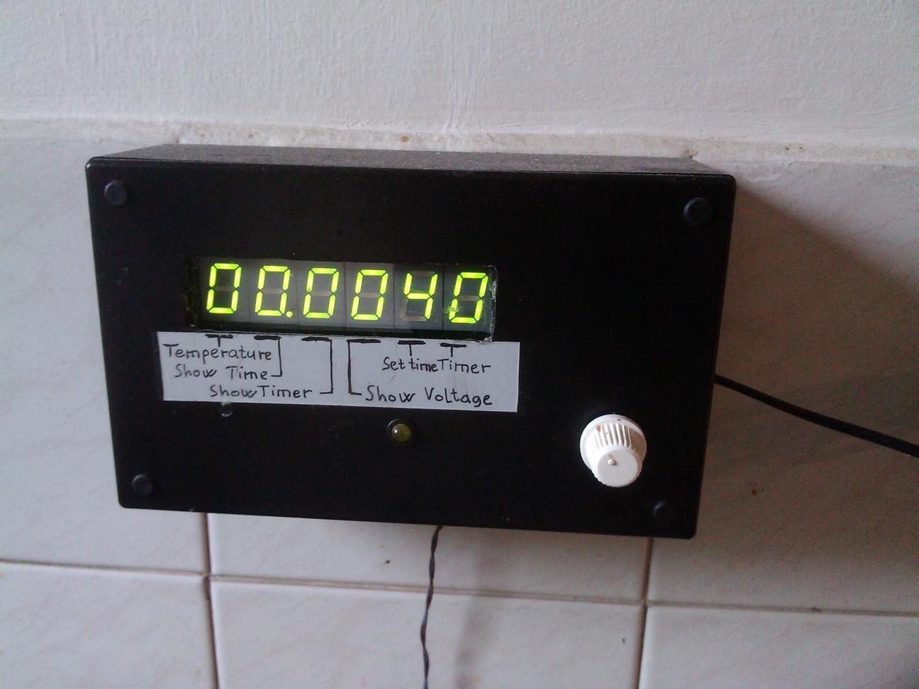 Konyhai hőmérő és időzítő