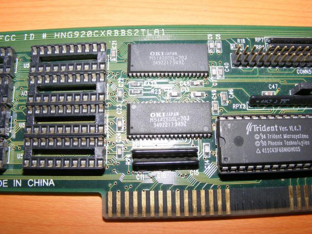 Trident 9400 memória