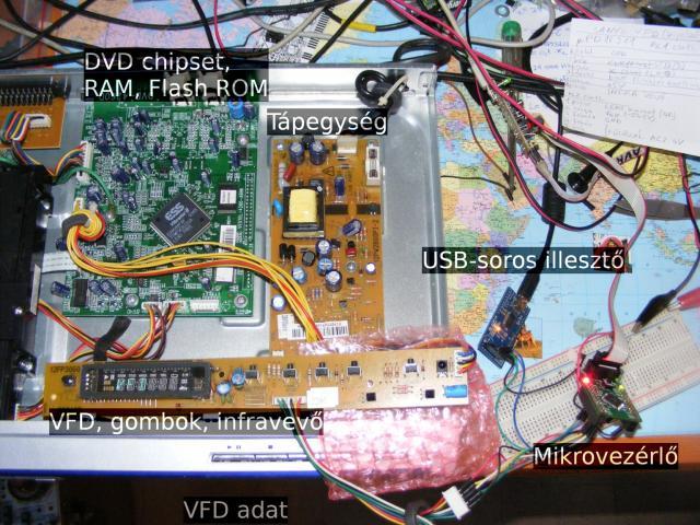 SANYO DVD-DX60 belülről