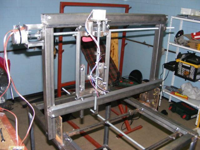 CNC mechanika majdnem teljesen készen
