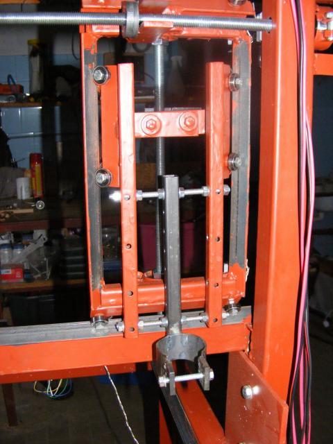 CNC marómotor rögzítő