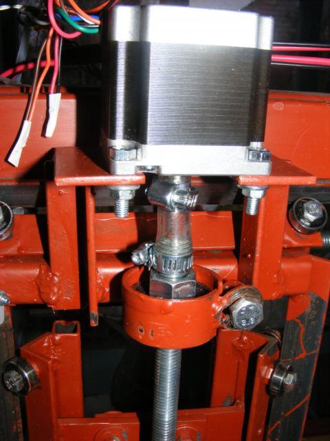 CNC Z motor