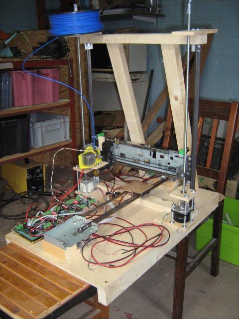 3D nyomtató TB6560-as motorvezérlőkkel