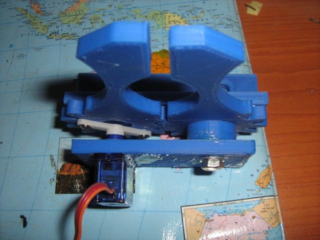 Robotkéz felülről (3D nyomtatással készült)