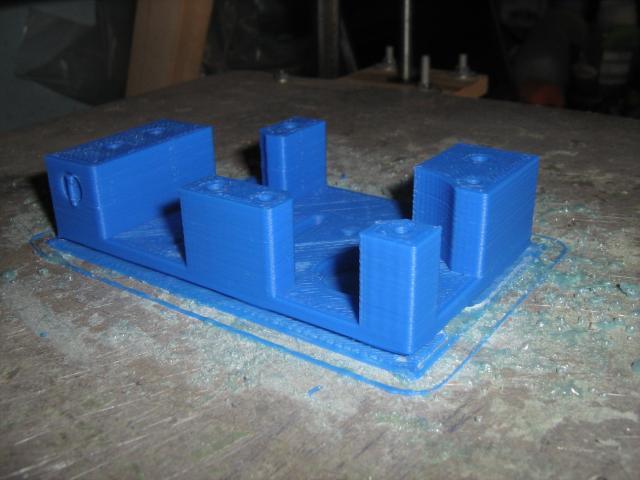 Alkatrész a CoreXY nyomtatóhoz (motor blokk)
