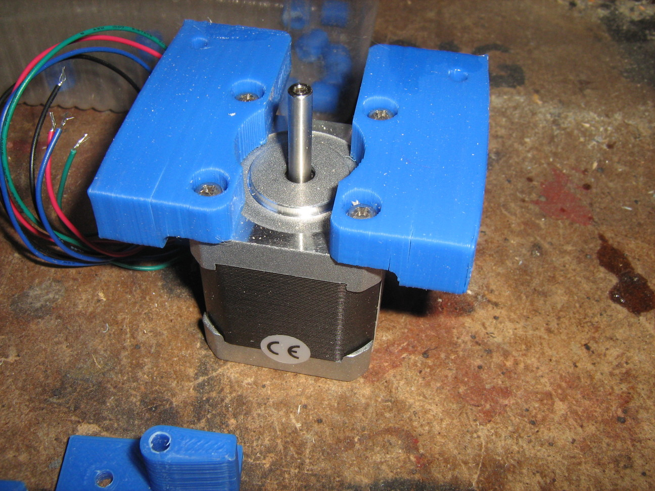 3D nyomtató Z motor