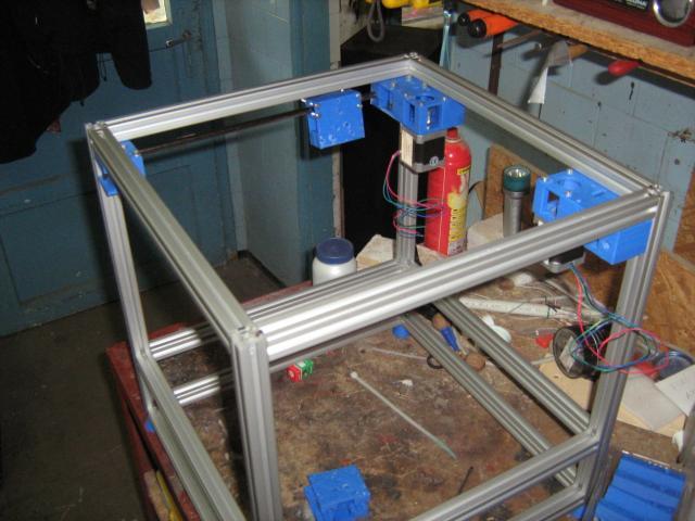 3D nyomtató épül