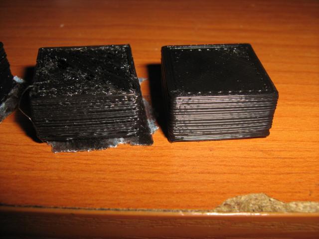 Legelső nyomtatott darabok közelről