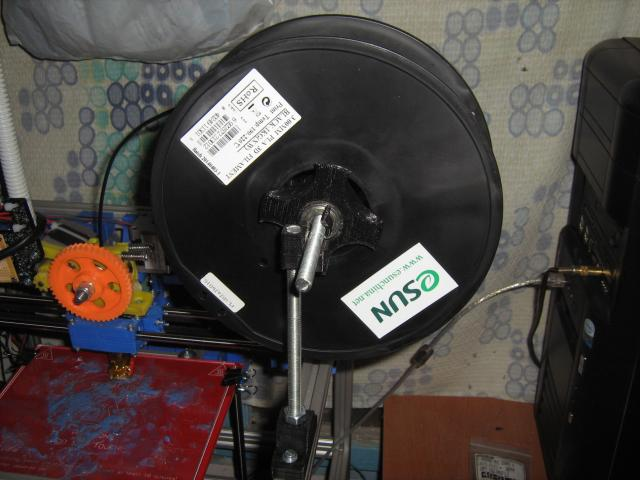 Műanyagszál-tartó 608-as csapággyal