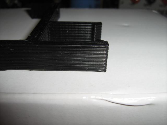 3D nyomtatási hiba megoldva (szíjak feszítve)