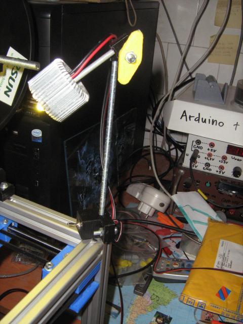 3D nyomtató géplámpa