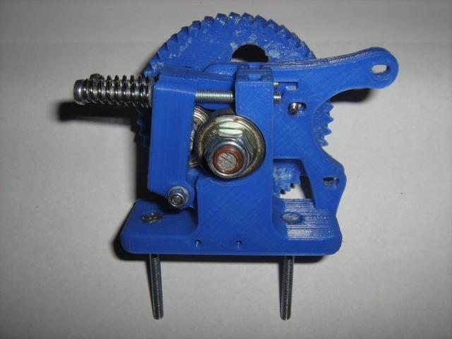 3D nyomtatófej egybeépítve