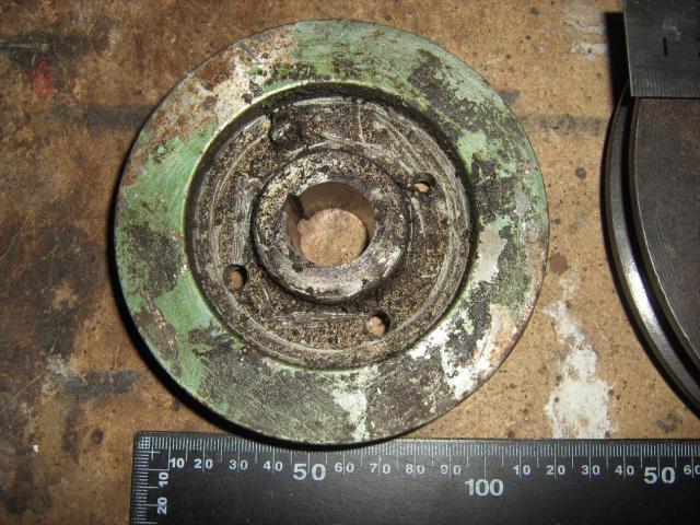 ZIL kompresszor eredeti ékszíjtárcsája