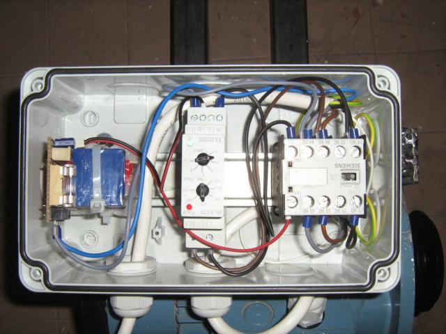 Aszinkron motor motorvédő elektronika
