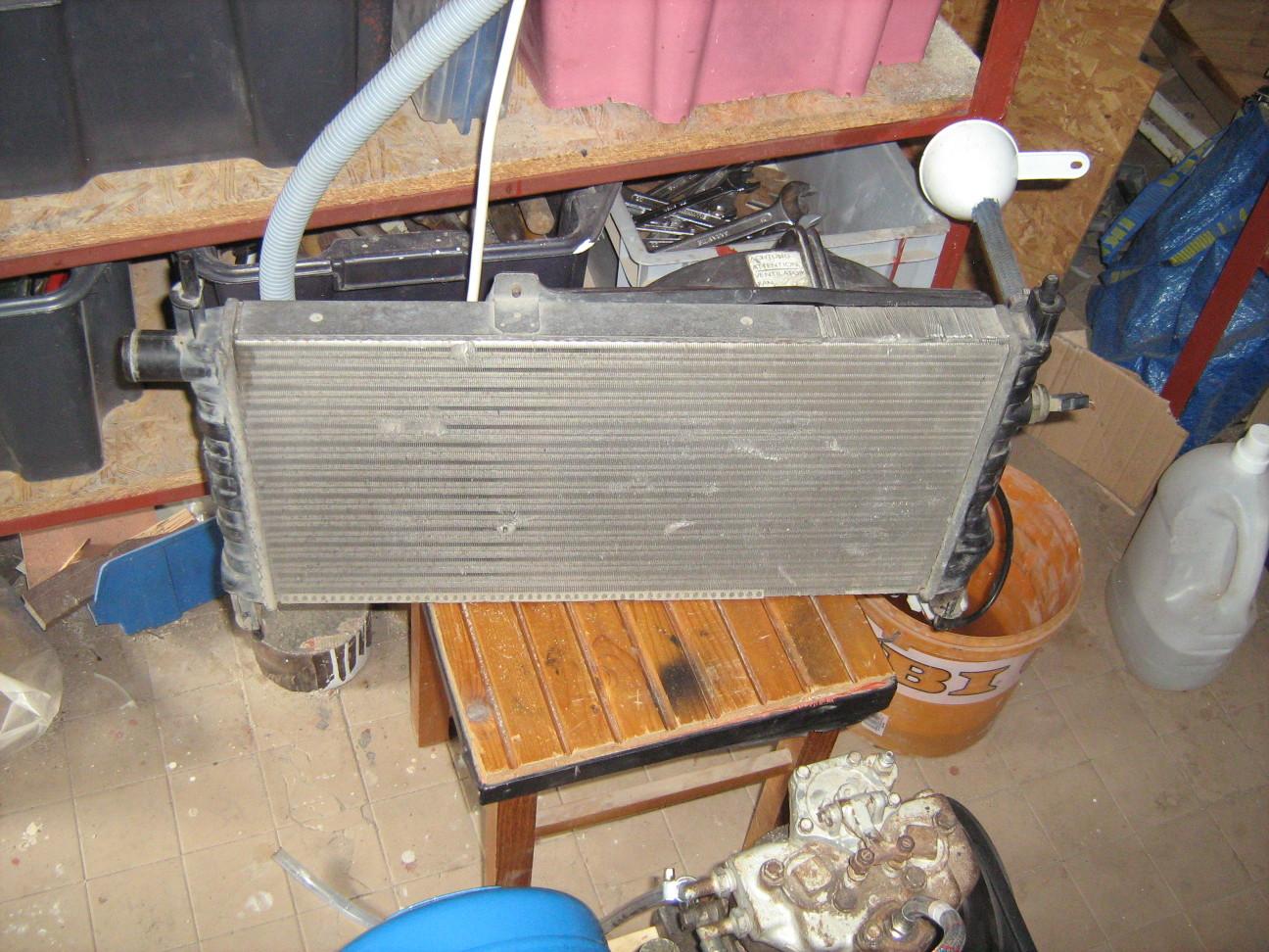 Opel Kadett hűtő