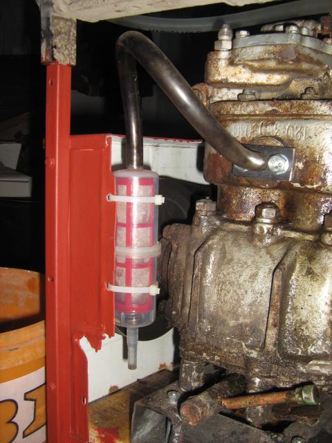 Kompresszor levegőszűrő