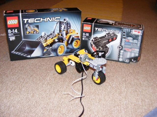 Lego Technic robot alap 1.