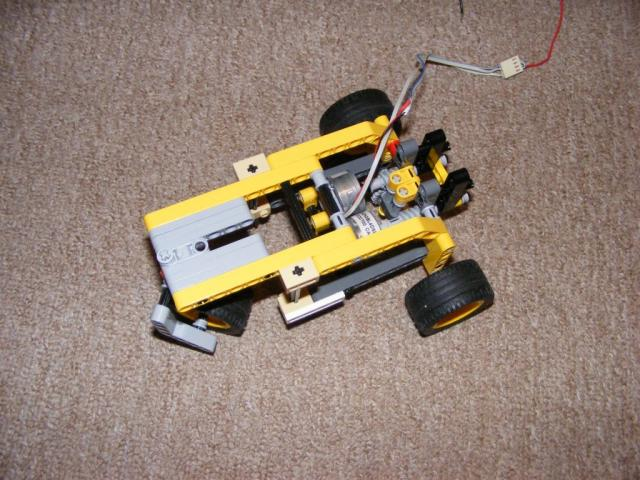 Lego Technic robot alap 2.