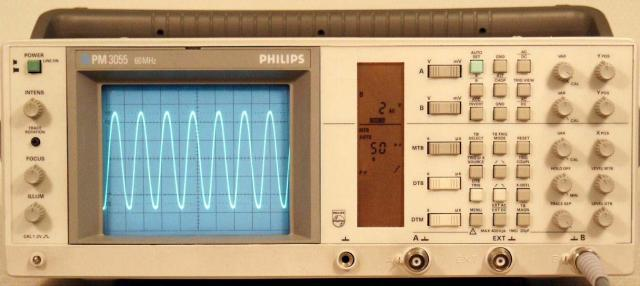PM-3055 Philips oszcilloszkóp